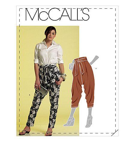 mccalls trousers