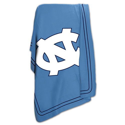 North Carolina Tarheels NCAA Classic Fleece Throw