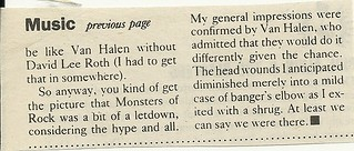 07/13/88 Monsters of Rock @ HHH Metrodome, Minneapolis, MN (Review 3/3)