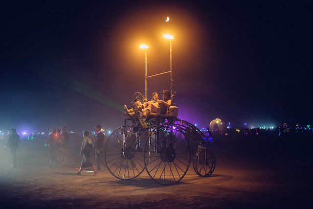 Burning Man 2014 - Art Vehicle 3