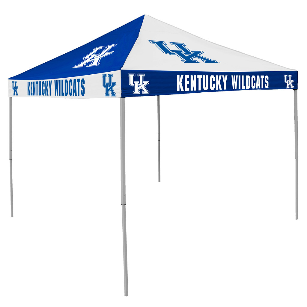 Kentucky UK Wildcats Checkerboard Tailgating Tent