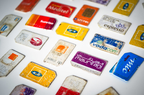 SIM cards of Africa
