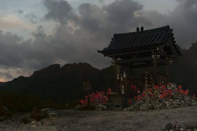 恐山 Osorezan, Aomori Japan, at dawn, 22 Sep 2014. 116