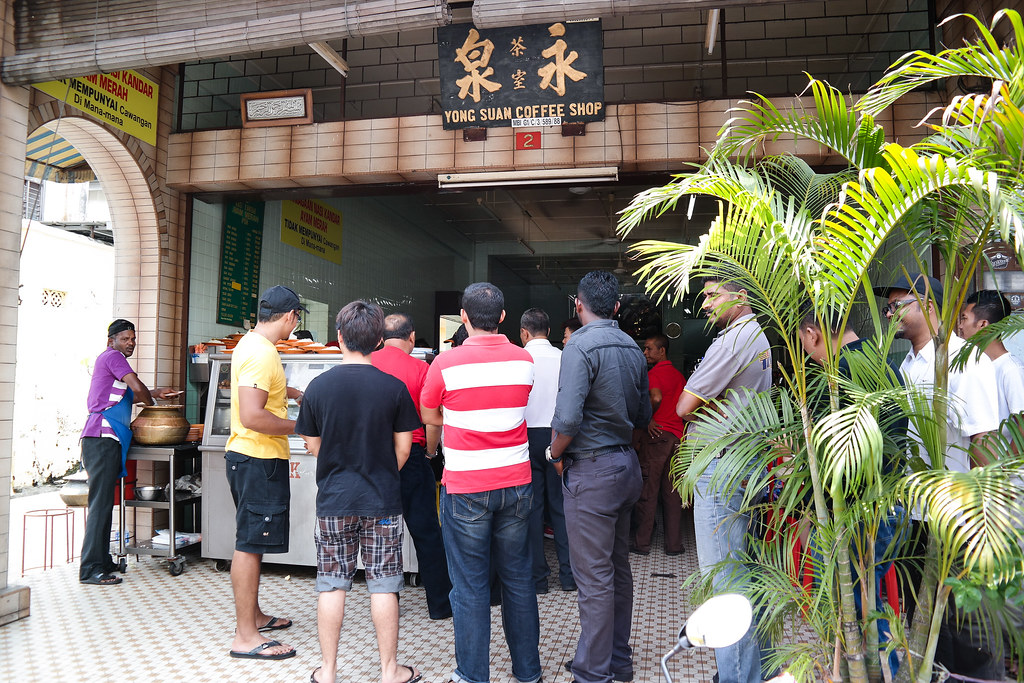 Ipoh Food Guide: Nasi Kandar Ayam Merah