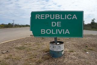 Fronteira da Bolívia