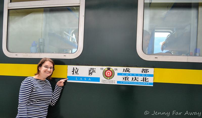 Train from Chengdu to Lhasa
