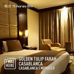เมื่อคืนนอนที่ คาซาบรังก้า หลับสบายจริงๆ #instaplace #instaplaceapp #place #earth #world  #morocco #MA #casablanca #goldentulipfarahcasablanca #travelprothai #day