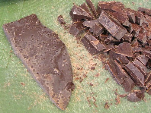untempered chocolate