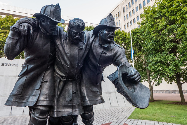 Albany - NY Firefighters Memorial