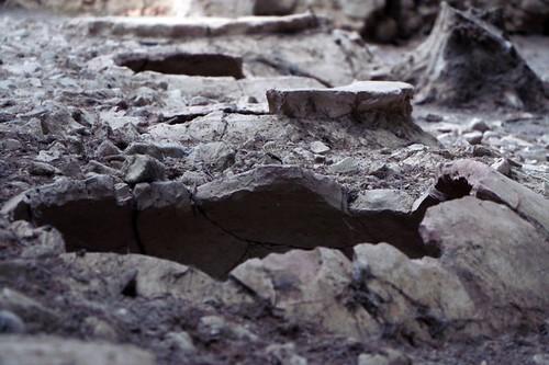 Santa Maria di Canneto: resti delle antiche costruzioni