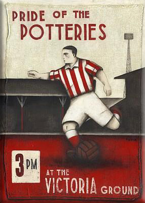 picture of old Stoke City advertising