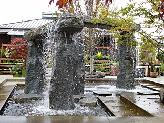 Fountain, University Village, Seattle