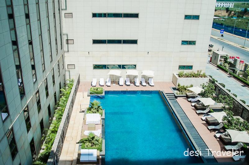 Swimming Pool at Ibis Delhi Airport