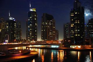 Moonlight Dubai Marina, Dubai, United Arab Emirates