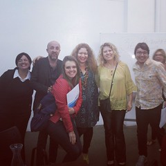Agora nós somos o grupo 'Tanta Ternura', a partir da oficina com o mestre Carpinejar #BlogAuroradeCinemaCarpinejariando @fabriciocarpinejar