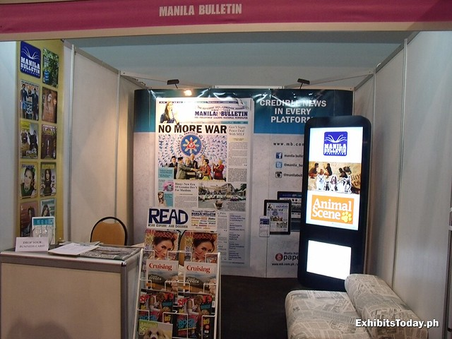 Manila Bulletin Exhibit Booth