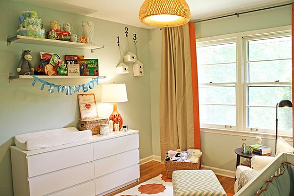 Modern-nursery-with-contemporary-style