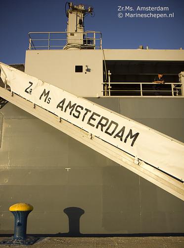Statietrap Zr.Ms. Amsterdam