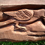 Carving at Ashton Park, Preston