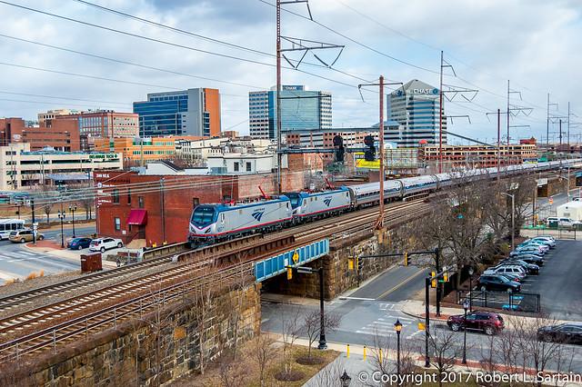 Amtrak 657 and 645, Nikon D40, AF-S DX Zoom-Nikkor 18-55mm f/3.5-5.6G ED II