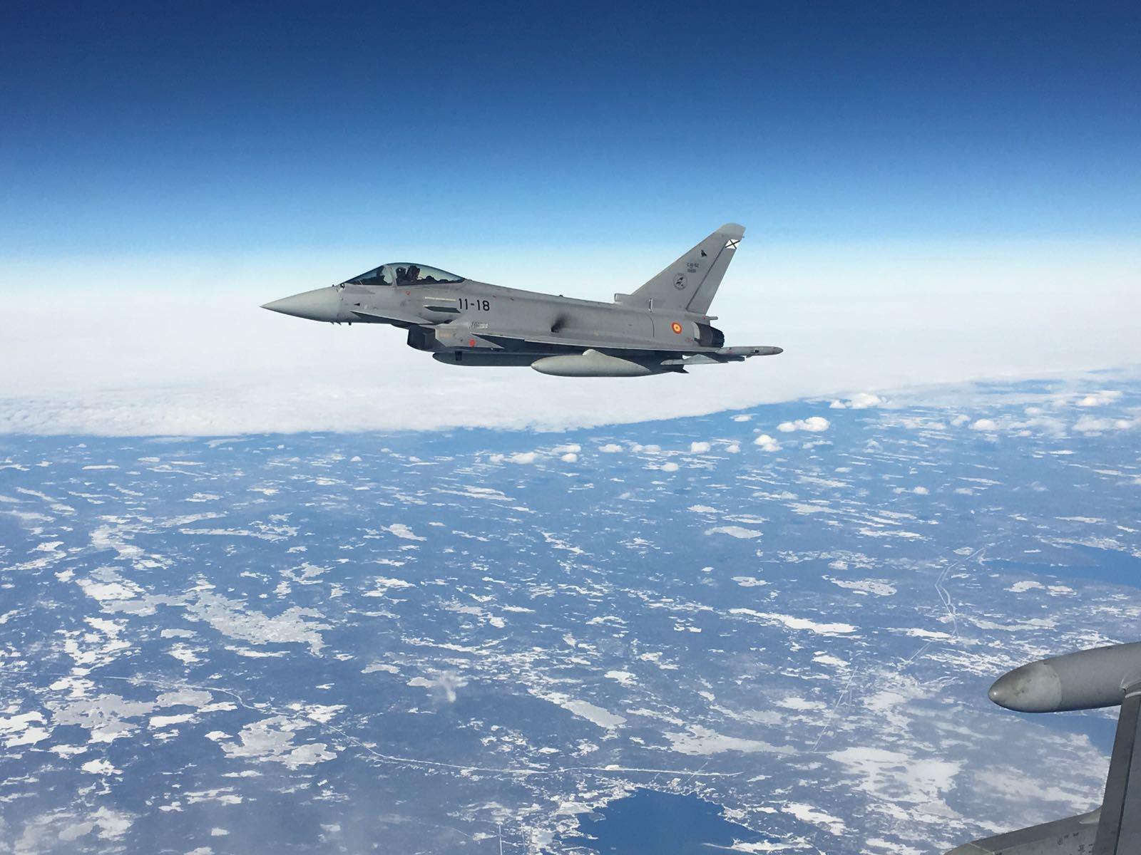 Foto de archivo Eurofighter