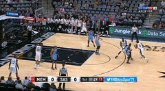 Memphis Grizzlies vs San Antonio Spurs #NBA
