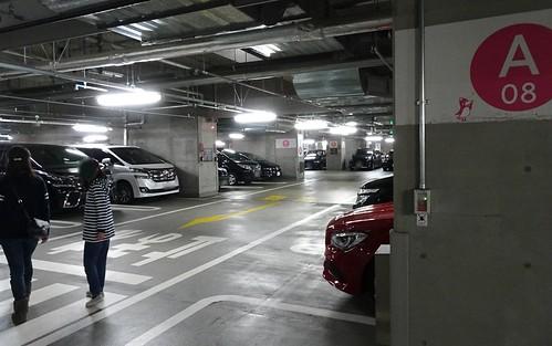 すみだ水族館の駐車場