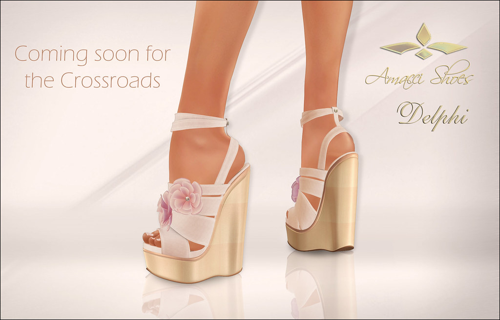 Amacci Shoes - Delphi WIP - SecondLifeHub.com