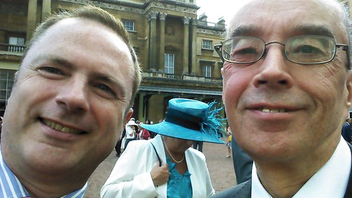 Buckingham Palace selfie June 14