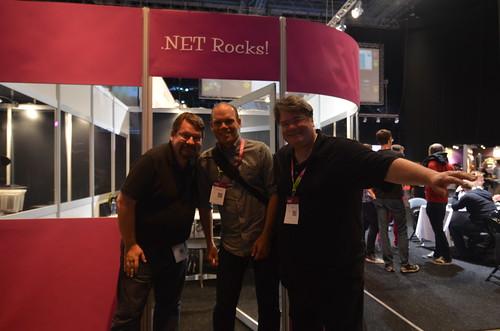 Tillsammans med .NET Rocks!