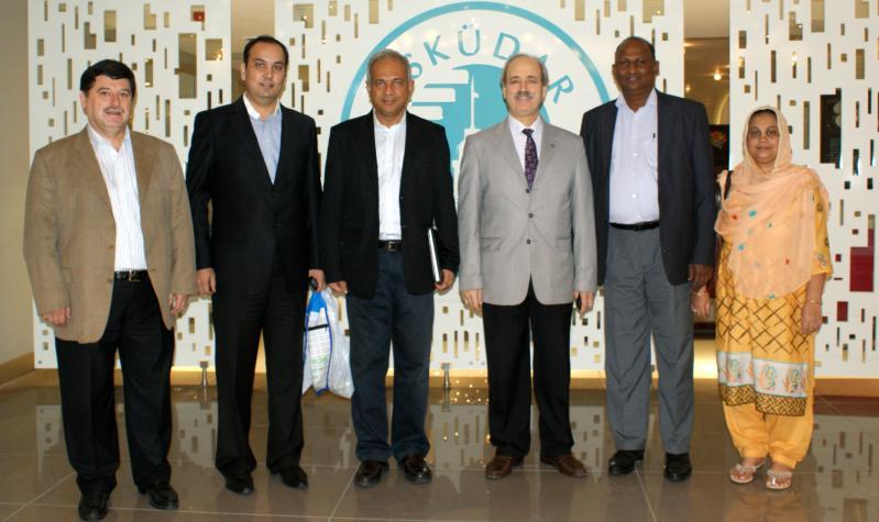 Sri Lanka'dan 2 Rektör Üsküdar Üniversitesi'nde gezi ve incelemelerde bulundu 2