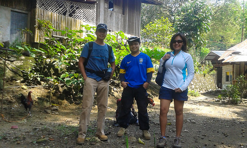 Off to Napo-Babag Trail