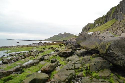 256 - skye - Staffin - an corran - dinosaur beach