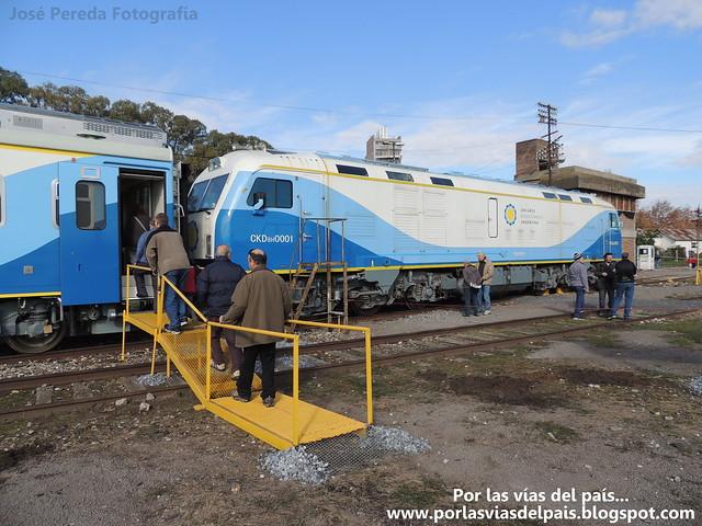 Formación 0Km en Estacion Rosario Norte.