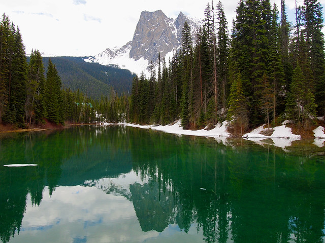 Emerald Lake in Yoho National Park, BC, Canada