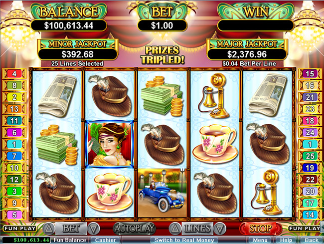 free Glitz & Glamour slot bonus feature