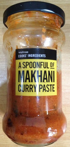 Waitrose Makhani curry paste