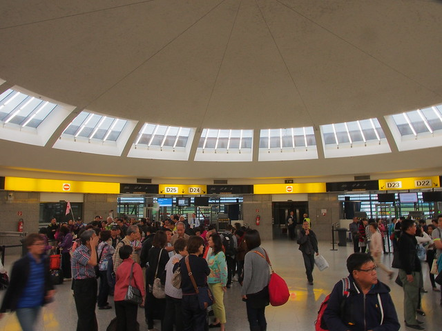 VIENNA AIRPORT登機門