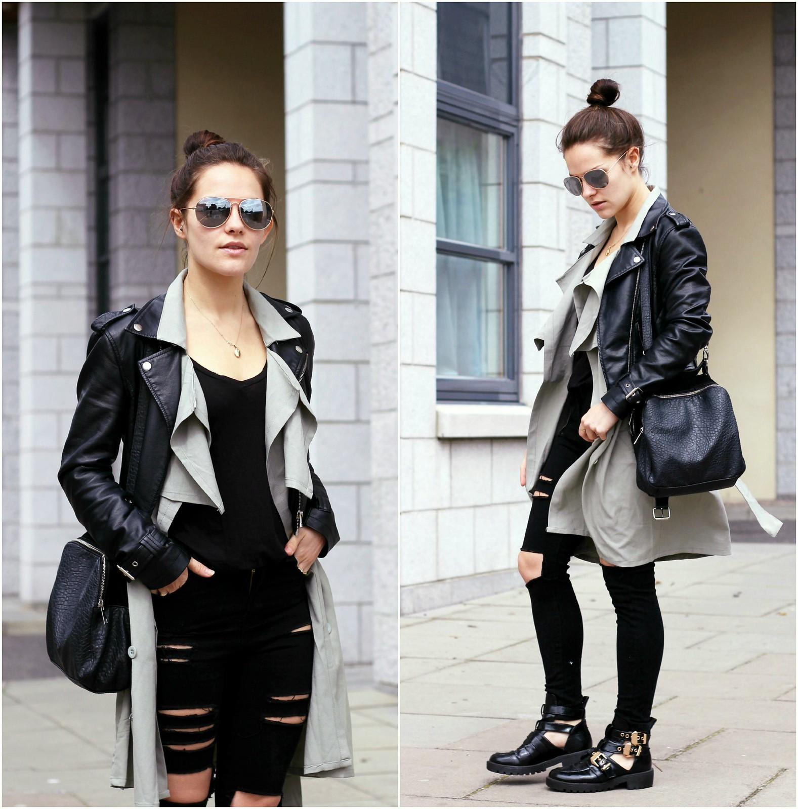Choies long sleeveless waistcoat 7