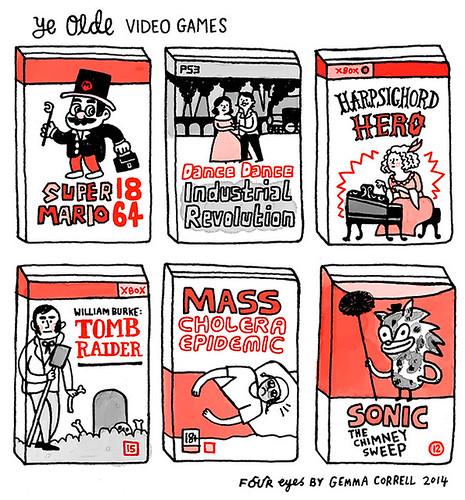 ye olde video games
