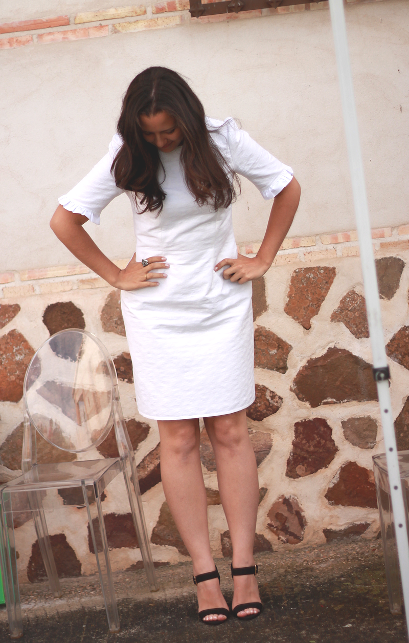 White dress | Miss Ecl