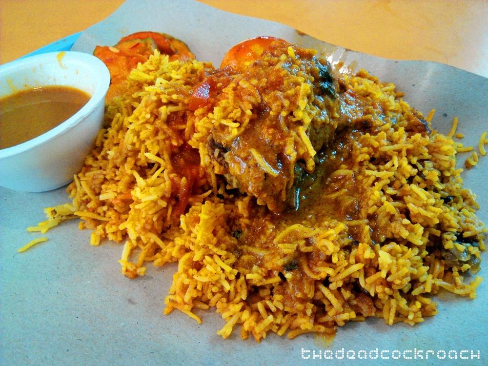 dum briyani, little india, nasi briyani, tekka centre, tekka market, yakader, 竹脚中心, food review,food,review,singapore