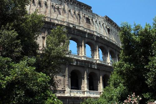 Scorci di Colosseo