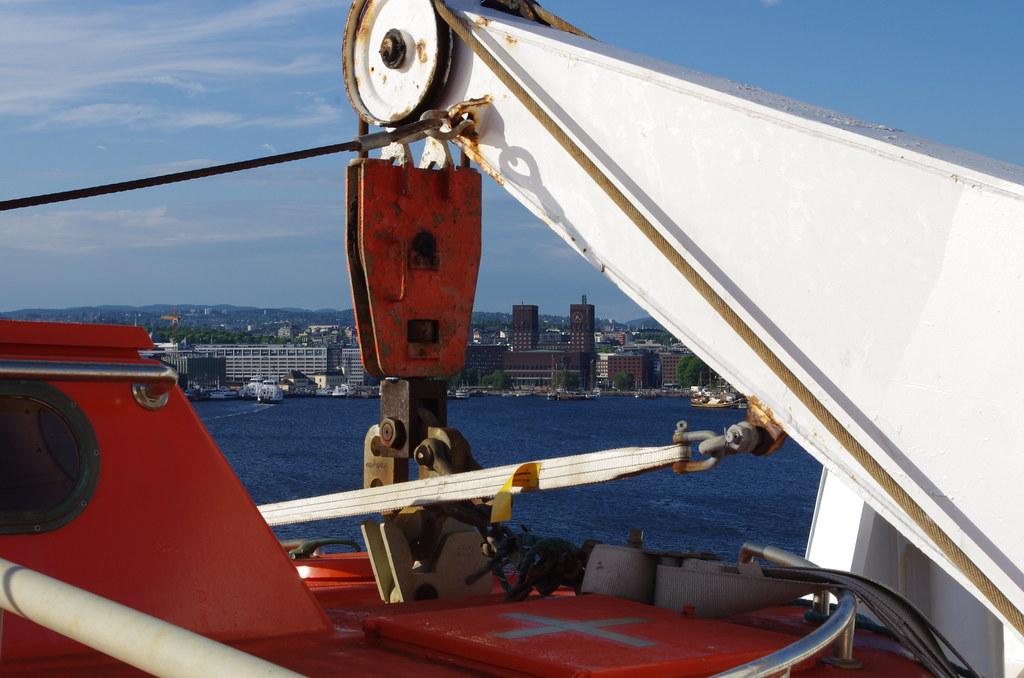 Fra båten
