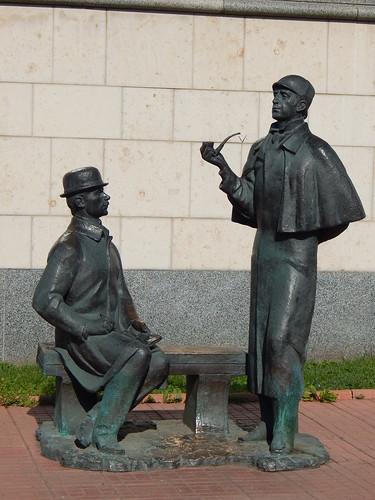 Холмс и Ватсон без шали