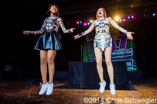 Icona Pop – 06-12-14 – 98.7 AMP Live 2014, Meadow Brook Music Festival, Rochester Hills, MI