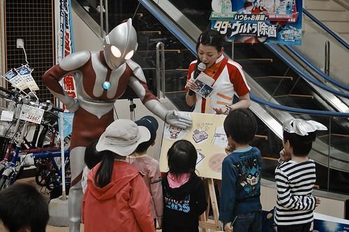 SAKURAKO meets ULTRA-MAN. [Explore-2014-06-21]