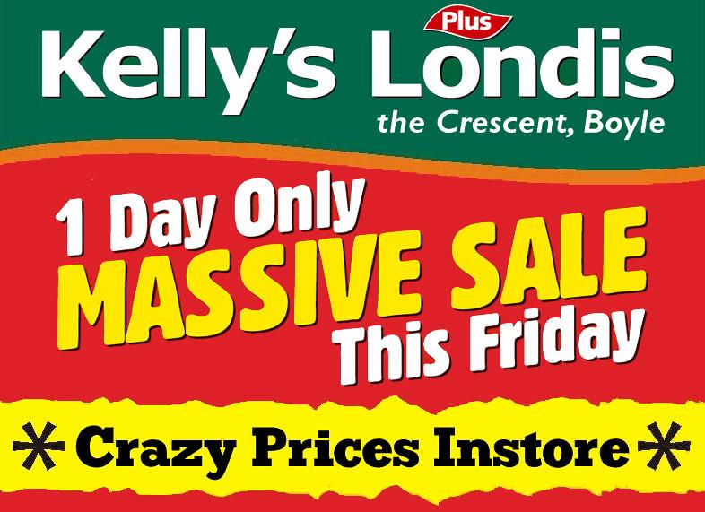 Kelly's Londis Sale