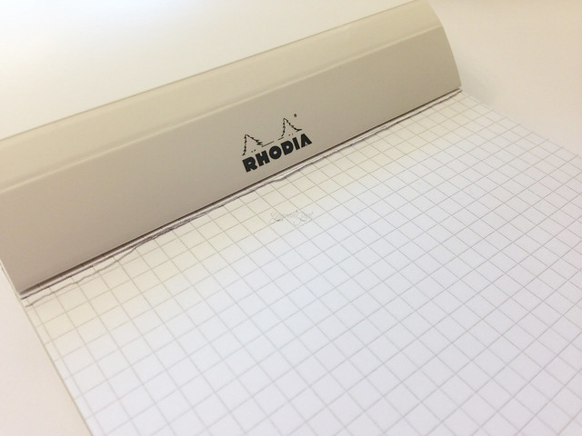 Review: Rhodia Ice No. 16 Notepad A5 - @Exaclair