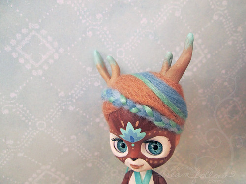 Periwinkle the deer girl